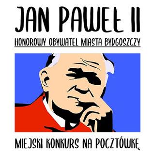 Miejski Konkurs Plastyczny na Pocztówkę o św. Janie Pawle II