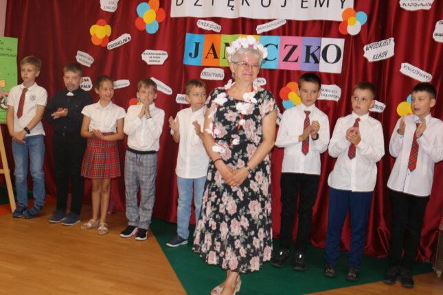 Pożegnanie Janiny Daewskiej